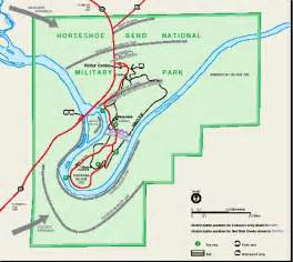 horseshoe bend arizona map gallery