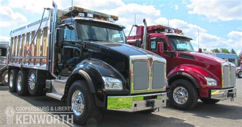 kenworth dealer nj dump trucks for sale in nj coopersburg liberty kenworth
