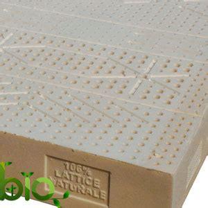 materasso bio materasso bio lattice naturale singolo 18 medio la casa