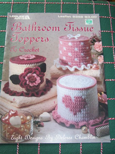 Tempat Tissue Cover Tempat Tissue Cover Tissu 8 crochet patterns bathroom tissue toppers toilet paper cover free usa s h