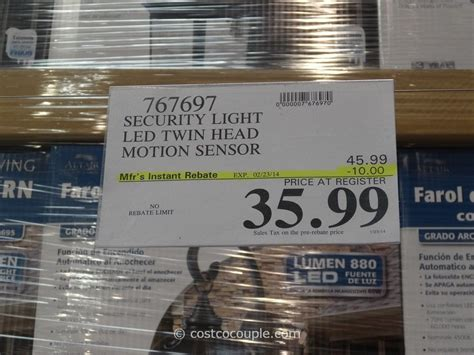 costco motion sensor light winplus secure home lighting lighting ideas