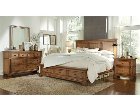 Aspen Home Bedroom Furniture Aspenhome Bedroom W Panel Bed Alder Creek Asi09 400set