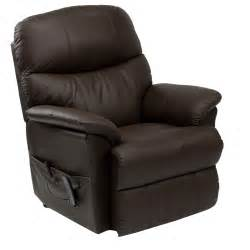 Recliner Armchairs Lars Riser Recliner Leather Armchair Next Day Delivery