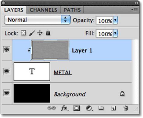 tutorial photoshop cs5 efek keren cara membuat teks efek logam keren dg photoshop tutorial
