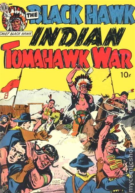 indian picture books black hawk indian tomahawk war 1951 comic books