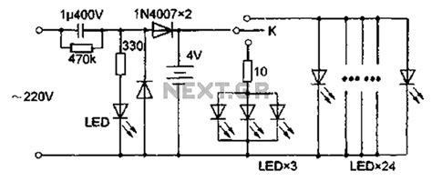 Rechargeable Led L Circuit Diagram by Led Circuit Page 3 Light Laser Led Circuits Next Gr