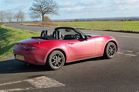 mazda mx 5 mazda mx 5 1 5 sport nav 2016 long term test review by