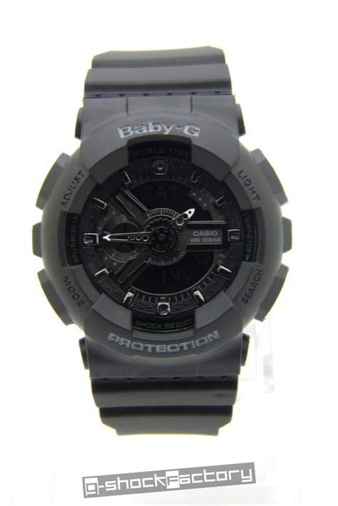 Baby G Ba 110 Black g shock baby g ga 110 ba 110 matte black