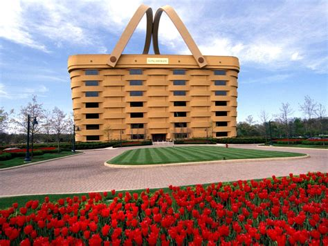 longaberger office for sale the weirdest building in america a huge picnic basket becomes basket case chicago tribune