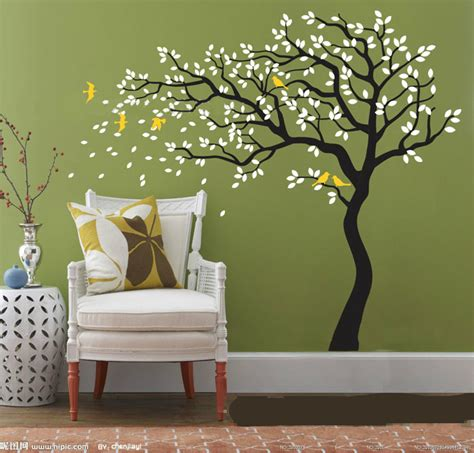 tree wall decals for living room aliexpress com buy black white tree removable vinyl wall