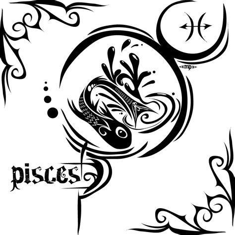 tribal tattoos zodiac signs 50 zodiac pisces tattoos designs and ideas