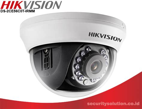 Cctv Hikvision 2 0 Mega Pixel Kamera Turbo Hd 1080p Hd hikvision ds 2ce56c0t irmm security solution cctv