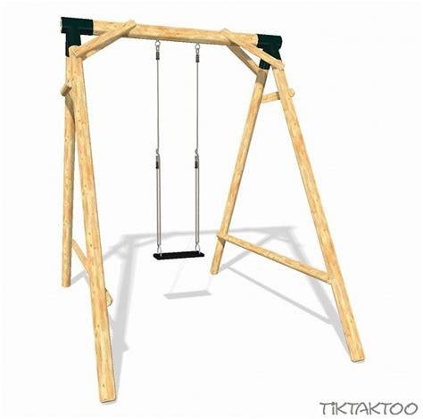 swing schaukel loggyland spielplatz set swing tiktaktoo