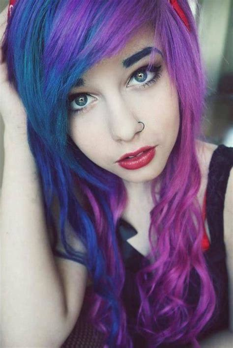 cute color hairstyles tumblr cute hair dye ideas tumblr colour girly hairstyle
