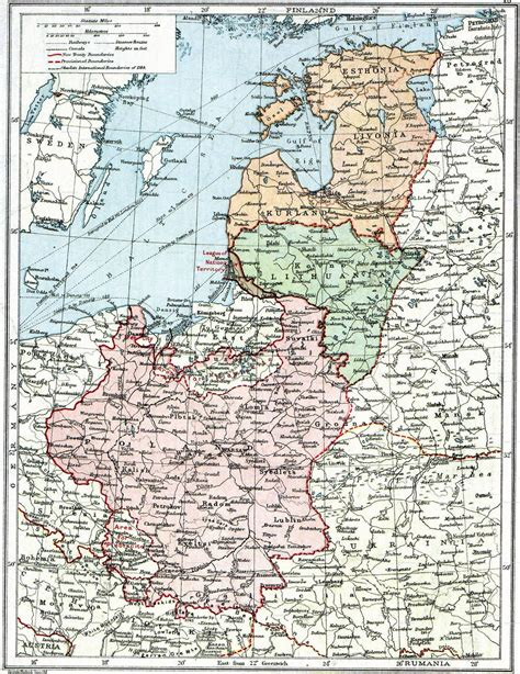 russia map before ww2 map of poland before wwii