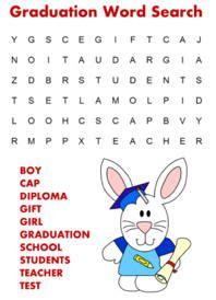 printable word search graduation graduation word search