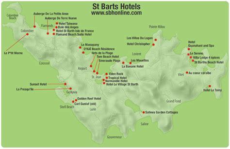 st barts map st barts island map images
