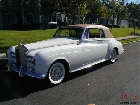 Roll Royce Convertible by Rolls Royce Silver Cloud Convertible