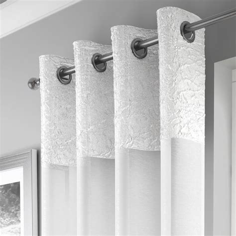 voile curtain panel madeira white curtain panel voile tonys textiles
