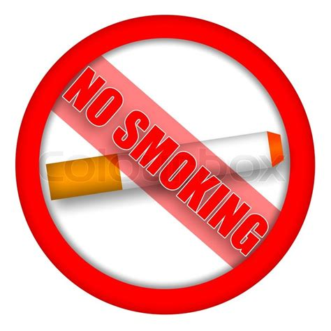 no smoking sign without cigarette no smoking sign with cigarette and caution inscription