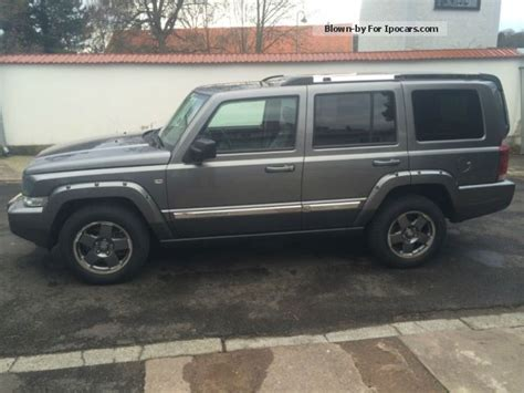 jeep commander 2012 2012 jeep commander 3 0 crd dpf automatic limited car