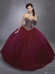 burgundy quinceanera dresses best 25 sweet 15 dresses ideas on sweet 15 quince dresses and xv dresses