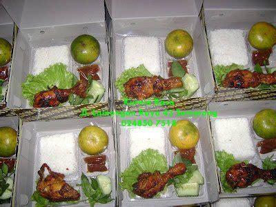 nasi box pesanan fak mipa undip pondokmakan kurniarasa