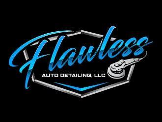 Auto Detailing Logo Ideas by Flawless Auto Detailing Llc Logo Design 48hourslogo