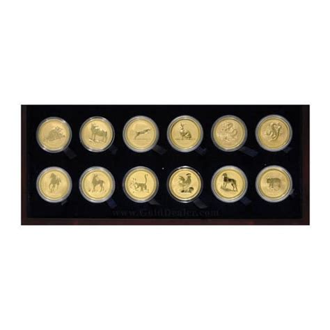 Gold Series Day 1 australian gold lunar set series 1 collectible gold bullion coins