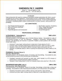 Resume Sles For Healthcare Managers Account Executive Sales Resume