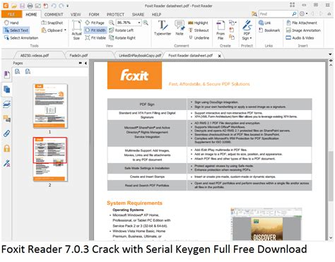 free download acrobat reader full version crack foxit reader 7 0 3 crack with serial keygen full free download