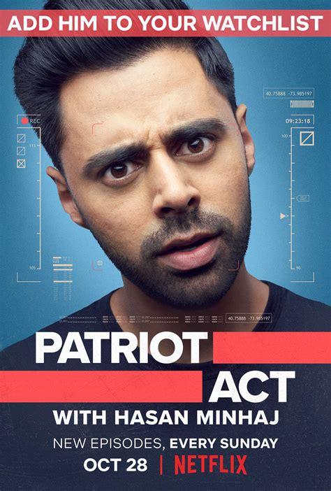 patriot act  hasan minhaj tvmaze