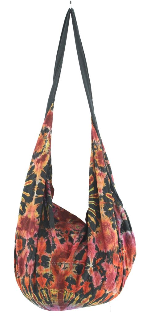 Tunic Ziper Batik new hippie tie dye cotton backpack tote bag with zip