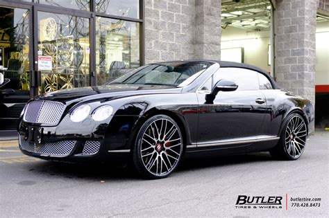 c bentley bentley continental gt c with 22in savini bm13 wheels