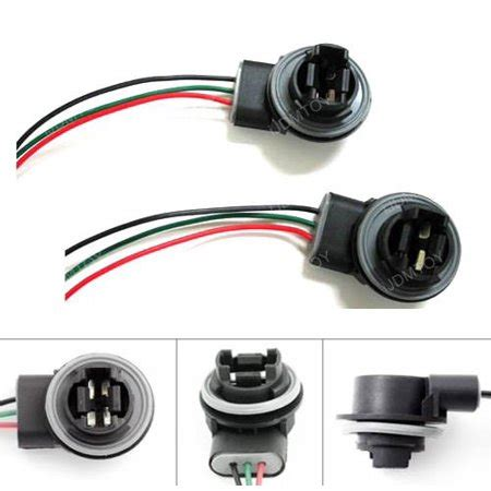 Ijdmtoy 2 3156 3157 Wiring Harness Sockets For Led Bulbs
