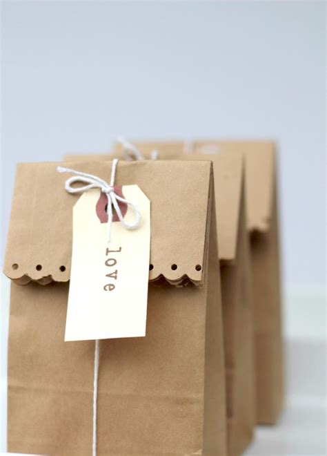 Paper Gift Bags - craft brown paper bag farah zulkifly