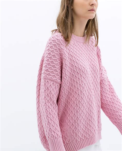 pink knit cardigan to reiterate pink is here to stay the wrong coast