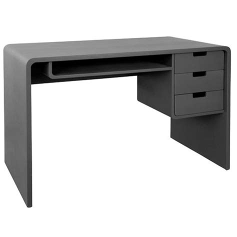 bureau gris l65 bureau laurette gris souris bureau
