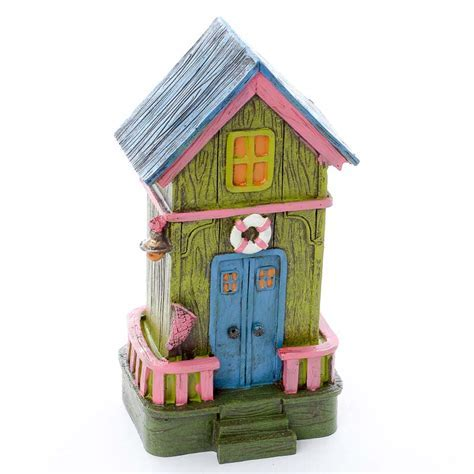 Miniature Beach House   Fairy Garden Miniatures