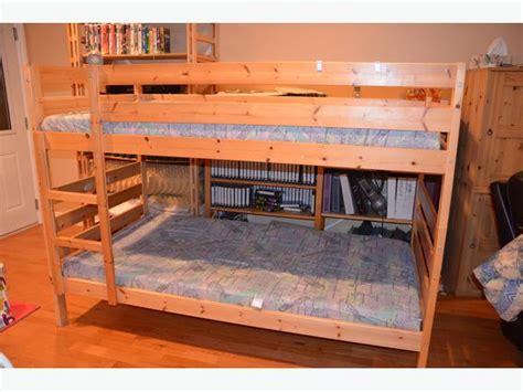 Ikea Pine Bunk Bed Ikea Pine Bunk Beds Saanich