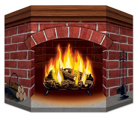 Fireplace Prop by Brick Fireplace Standup Decorations Props
