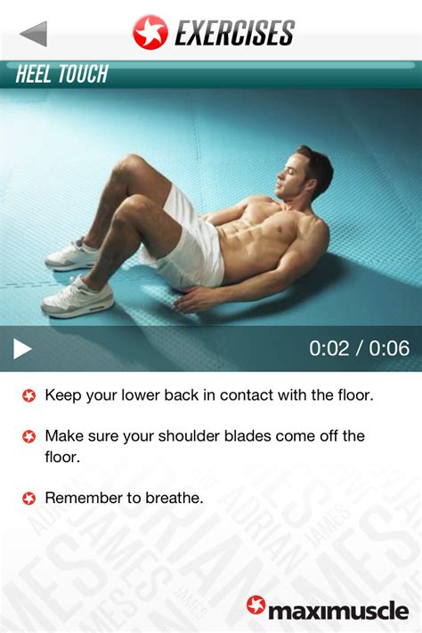 Exercise For Your Health By Adrian R Nugraha adrian 6 pack abs workout lite iphone health