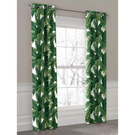 palm curtains best 25 tropical curtains ideas on pinterest leaf