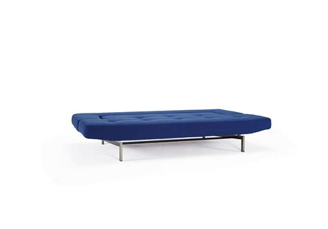 wing sofa bed wing deluxe sofa bed soft sapphire textile by innovation