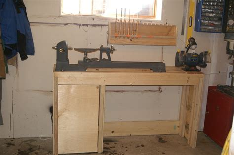 lathe bench plans lathe bench plans lathe bench chisel rack by alan lumberjocks com