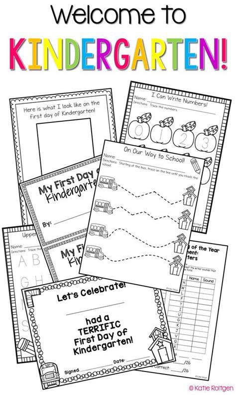 Kindergarten Activities Back To School   activities for kindergarten back to and activities on