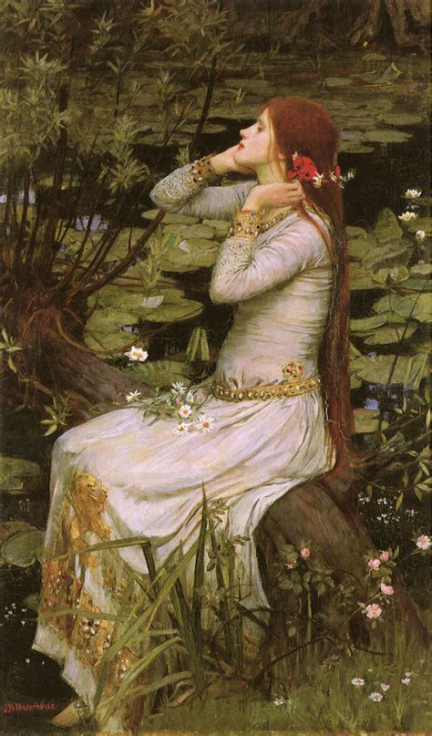 by john william waterhouse elizabeth siddal victorian ophelia byron s muse