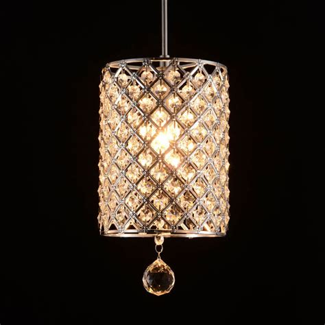 Modern Crystal Hallway Light Pendant L Lighting Fixture Contemporary Pendant Lighting Fixtures
