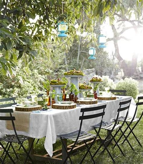 outdoor table ideas 12 simple tips for summer party table setting and outdoor