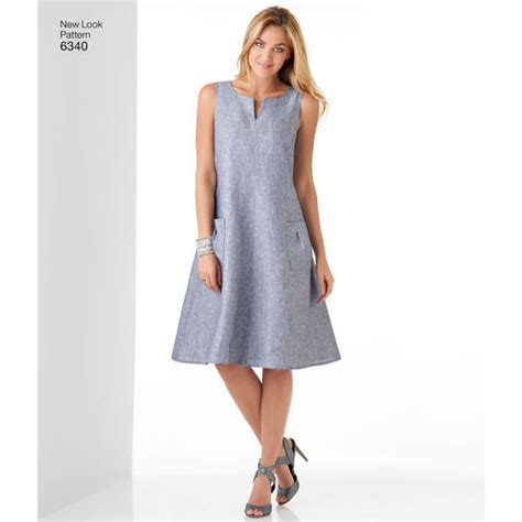 A Looka Looksome New Products by Pattern For Misses Easy Dresses Simplicity
